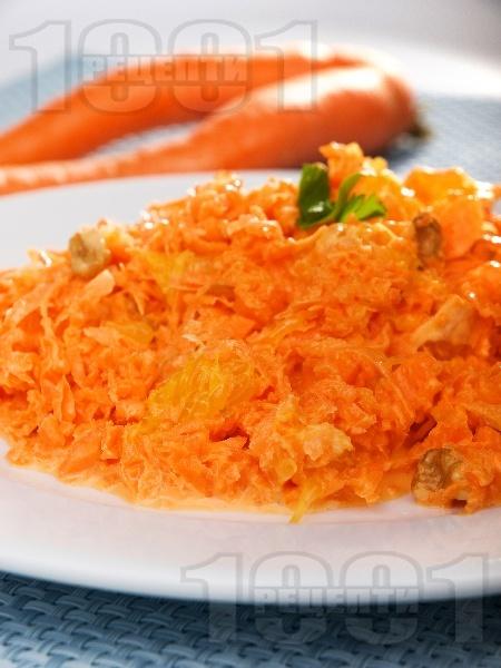 Специална морковена салата - снимка на рецептата